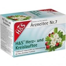 H&S Herz Kreislauf Tee Filterbeutel 20 St