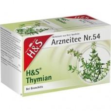 H&S Thymian Tee Filterbeutel 20 St
