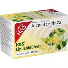 H&S Lindenblüten Tee Filterbeutel 20 St