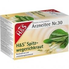 H&S Spitzwegerichkraut Filterbeutel 20 St