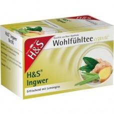 H&S Ingwer Filterbeutel 20 St