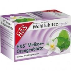 H&S Melisse Orangenblüte Filterbeutel 20 St