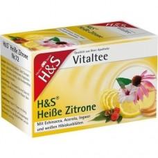 H&S heiße Zitrone Vitaltee Filterbeutel 20 St