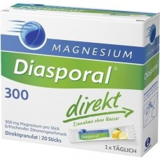 MAGNESIUM DIASPORAL 300 direkt Granulat 20 St