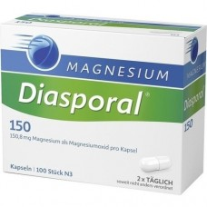 MAGNESIUM DIASPORAL 150 Kapseln 100 St