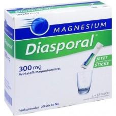 MAGNESIUM-DIASPORAL 300 mg Granulat 20 St