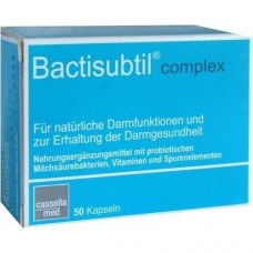 BACTISUBTIL Complex Kapseln 50 St