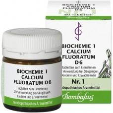 BIOCHEMIE 1 Calcium fluoratum D 6 Tabletten 80 St