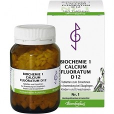 BIOCHEMIE 1 Calcium fluoratum D 12 Tabletten 500 St