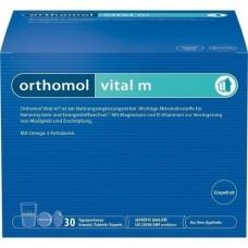 ORTHOMOL Vital M Grapefruit Granulat/Kaps. 30 St