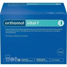 ORTHOMOL Vital F 30 Granulat/Kaps.Kombipackung 1 St