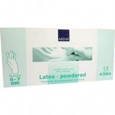 HANDSCHUHE Latex small 4384 100 St
