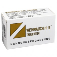 WEIHRAUCH H15 Tabletten 100 St