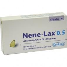 NENE LAX 0,5 Suppos.f.Säugl. 6 St