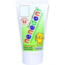 NENEDENT Kinderzahncreme homöop.Vertr.m.Fluor. 50 ml