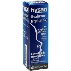 HYSAN Hyalurontropfen 10 ml