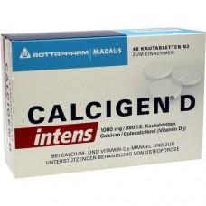 CALCIGEN D intens 1000 mg/880 I.E. Kautabletten 48 St