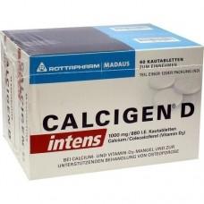 CALCIGEN D intens 1000 mg/880 I.E. Kautabletten 120 St