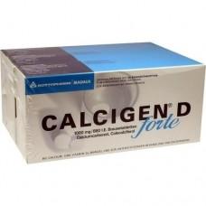 CALCIGEN D forte 1000 mg/880 I.E. Brausetabletten 120 St