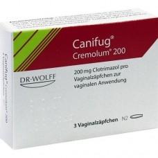 CANIFUG Cremolum 200 Vaginalsuppositorien 3 St