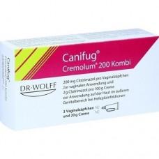 CANIFUG Cremolum 200 3 V.Supp.+20gCr. Kombipackung 1 P