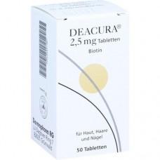 DEACURA 2,5 mg Tabletten 50 St