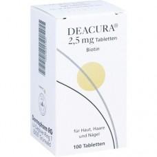 DEACURA 2,5 mg Tabletten 100 St