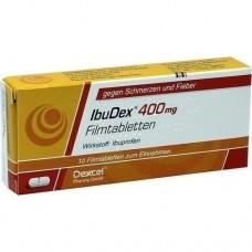 IBUDEX 400 mg Filmtabletten 10 St