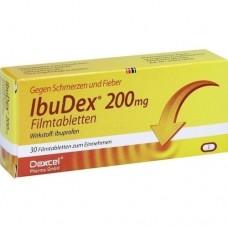 IBUDEX 200 mg Filmtabletten 30 St