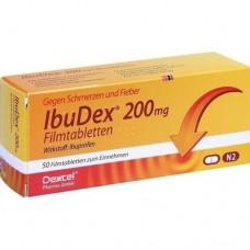 IBUDEX 200 mg Filmtabletten 50 St