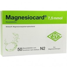 MAGNESIOCARD 7,5 mmol Brausetabletten 50 St
