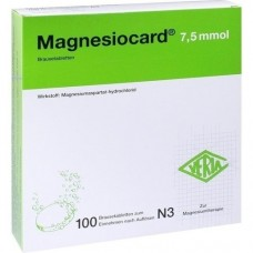 MAGNESIOCARD 7,5 mmol Brausetabletten 100 St