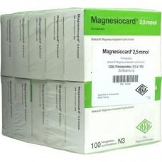 MAGNESIOCARD 2,5 mmol Filmtabletten 10X100 St