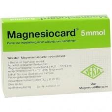 MAGNESIOCARD 5 mmol Plv.z.Her.e.Lsg.z.Einnehmen 20 St