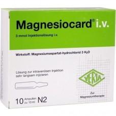 MAGNESIOCARD i.v. Injektionslösung 10X10 ml