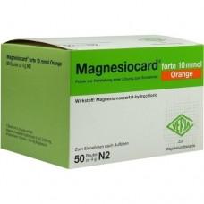 MAGNESIOCARD forte 10 mmol Orange Plv.z.H.e.L.z.E. 50 St