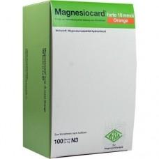MAGNESIOCARD forte 10 mmol Orange Plv.z.H.e.L.z.E. 100 St