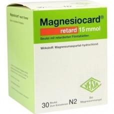 MAGNESIOCARD retard 15 mmol Beutel m.ret.Filmtabl. 30 St