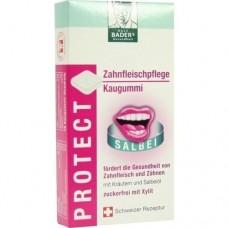BADERS Protect Zahnfleisch Pflege Kaugummi 16 St