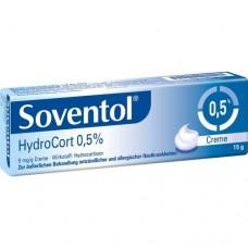 SOVENTOL Hydrocort 0,5% Creme 15 g