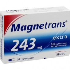 MAGNETRANS extra 243 mg Hartkapseln 20 St