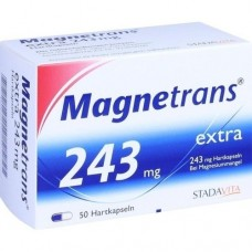 MAGNETRANS extra 243 mg Hartkapseln 50 St