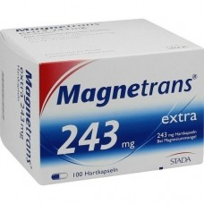 MAGNETRANS extra 243 mg Hartkapseln 100 St