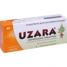 UZARA 40 mg überzogene Tabletten 50 St