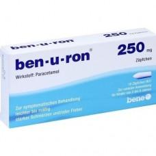 BEN-U-RON 250 mg Suppositorien 10 St