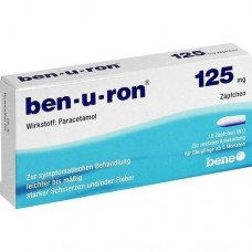 BEN-U-RON 125 mg Suppositorien 10 St