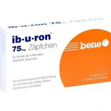 IB-U-RON 75 mg Suppositorien 10 St