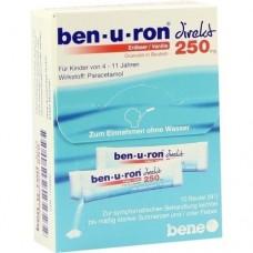 BEN-U-RON direkt 250 mg Granulat Erdbeer/Vanille 10 St