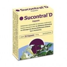 SUCONTRAL D Diabetiker Kapseln 20 St