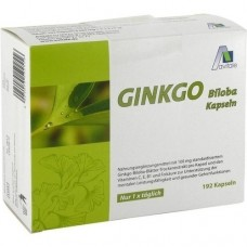 GINKGO 100 mg Kapseln+B1+C+E 192 St